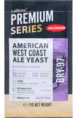 Lallemand LalBrew BRY-97 - American West Coast Ale Yeast 11 g