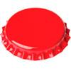 Kapsle czerwone DUŻE 29 mm 50 szt.