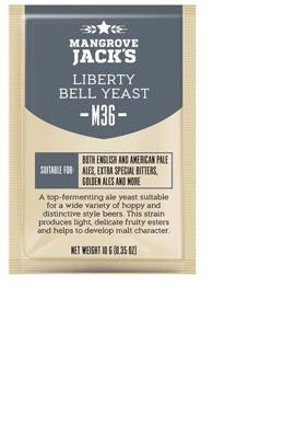Liberty Bell Ale M36 Mangrove Jack's Craft Series 10 g