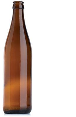 Butelka do piwa - szklana 0,5 l NRW grubościenna - 20 szt.