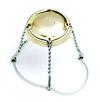 Koszyk druciany srebrny z galwanizowaną osłonką 29x38 - 20 szt.