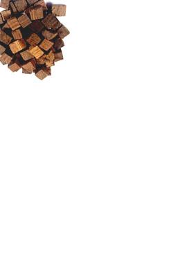 Kostki dębowe francuskie średnio przypalone 20 g