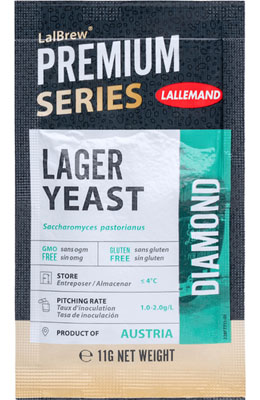 Lallemand LalBrew Diamond Lager Yeast 11 g