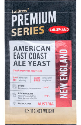 Lallemand LalBrew New England American East Coast Ale Yeast 11 g