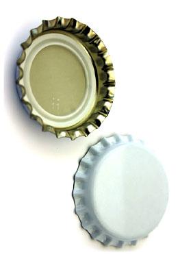 Kapsle białe - karton
