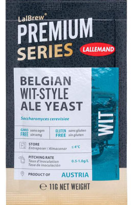 Lallemand LalBrew Wit Belgian Wit-Style Ale Yeast 11 g