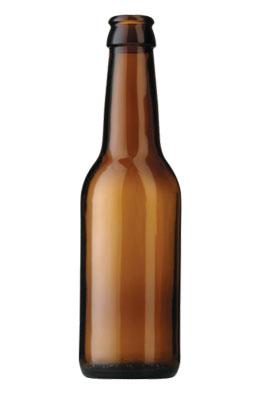 Butelka do piwa - szklana 0,33 l longneck - 40 szt.