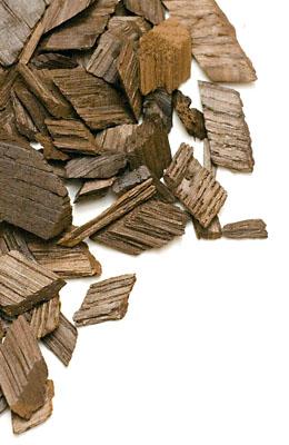 Płatki (chipsy) dębowe amerykańskie mocno przypalone 50 g